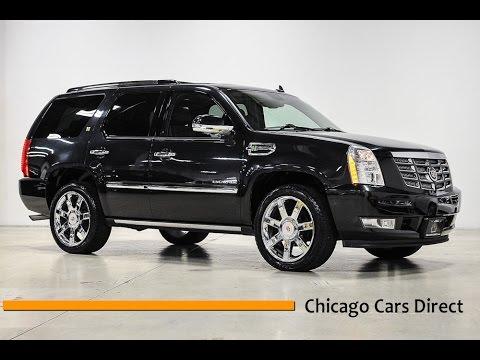 Chicago Cars Direct Reviews Presents A 2010 Cadillac Escalade Hybrid Awd Ar161730