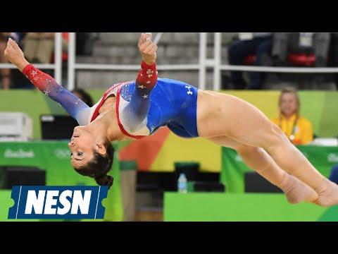 Olympics: Biles, Raisman Win Gold, Silver On Floor