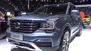2019 GAC GS8 320T - Exterior And Interior Walkaround - 2018 Detroit Auto Show