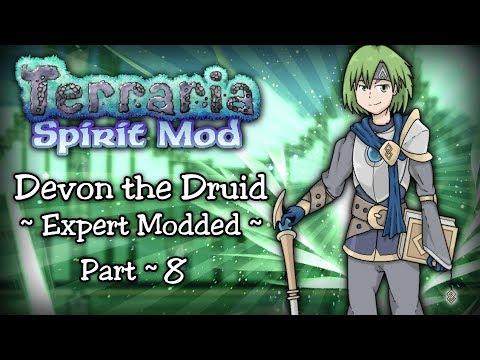 Terraria SPIRIT MOD Let's Play Part 8 | STARPLATE RAIDER & STARPLATE ARMOR!