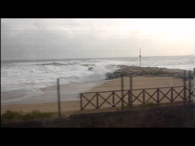 Temporal de mar dur al Maresme - Gener 2017
