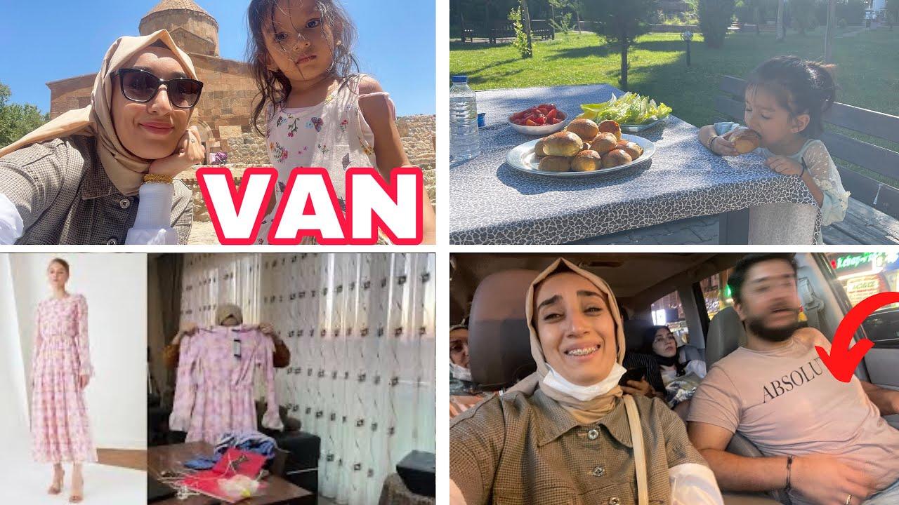 VAN VLOG 🌸 TESETTÜR ALIŞVERİŞİM, Kuzenlerimle Türkiyedeki ilk Piknik 🥰 Akdamar Adası vlog