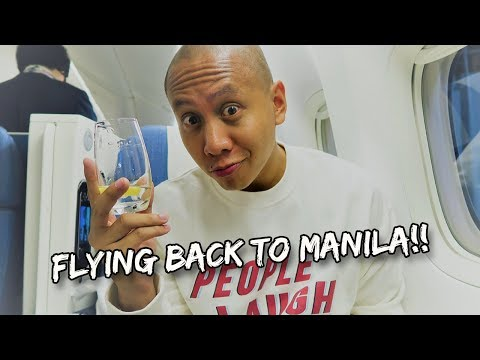 FLYING BACK HOME TO MANILA, PHILIPPINES! | Vlog #170