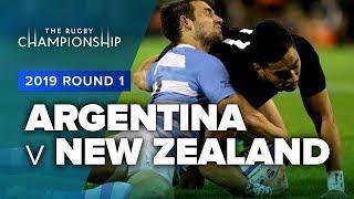 Argentina v New Zealand   2019 TRC Rd 1 Highlights