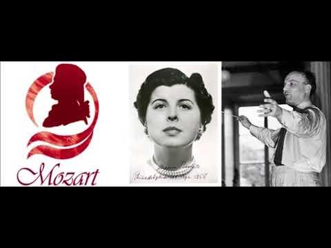 """Maria Stader """"Alma grande e nobil core"""" Mozart"""