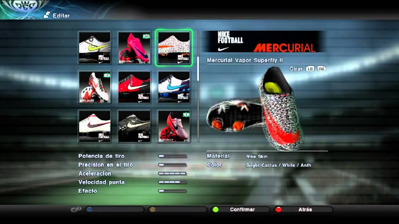 c2ad8e35d PES 2011 - New Boot Nike Mercurial Vapor Superfly II Safari CR7 HD ...
