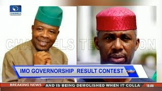 Controversy Over  Imo Gov'ship Poll As Nwosu Alleges Fraud Pt.1 |Politics Today|