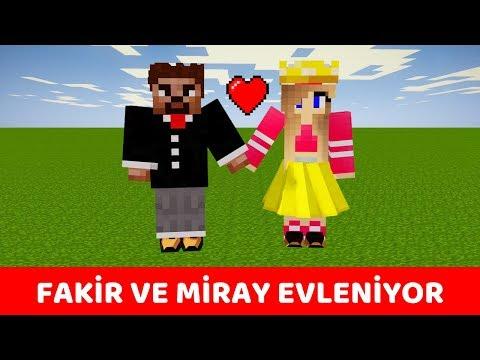 ZENGİN VS FAKİR #244 - Fakir ve Miray Evleniyor 😍 (Minecraft)