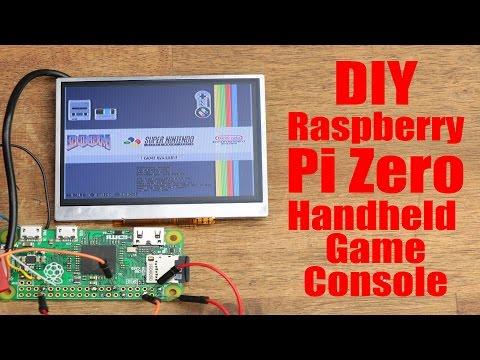 DIY Raspberry Pi Zero Handheld Game Console (Part 1)