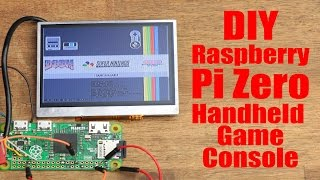 DIY Raspberry Pi Zero Handheld Game Console (Part 1)