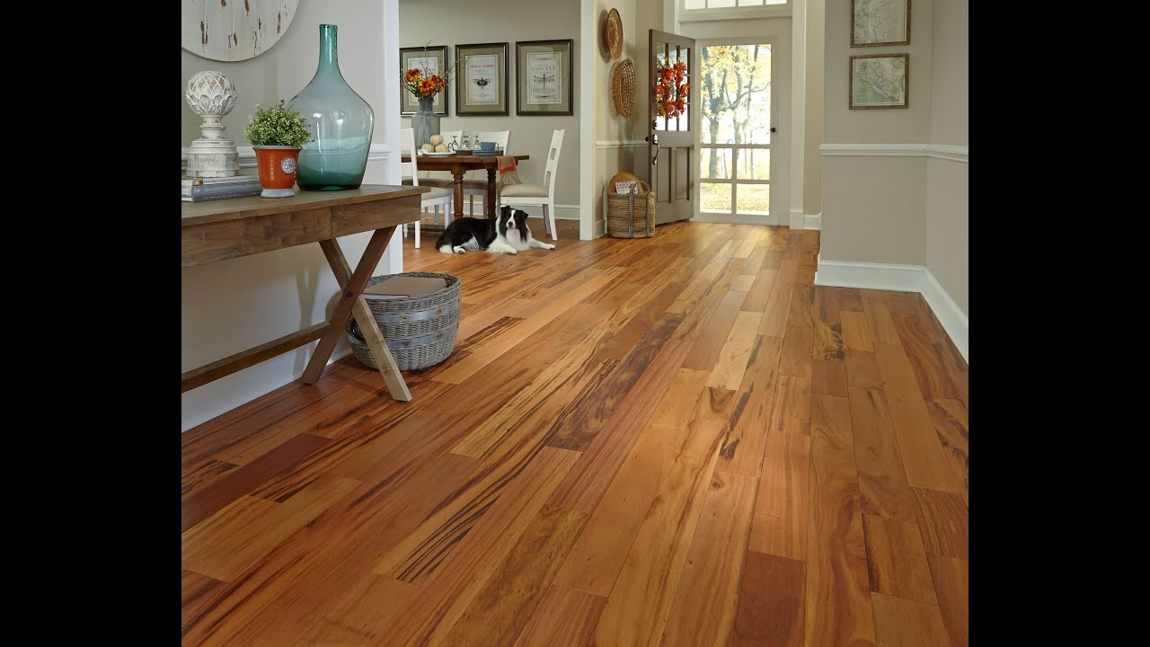 Handscraped Hardwood Flooring | Lumber Liquidators - YouTube