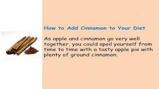 About Cinnamon And Weight Loss