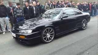 Repeat youtube video Carfreitag 2012 NOS Brünnchen 8-16 Uhr - Highlights Drifts Crash Ölspur Burnouts