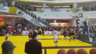 Andrew wiggins in korea 3대3 스페셜 매치 wiggins scoring part 위긴스 득점 2017.07.23