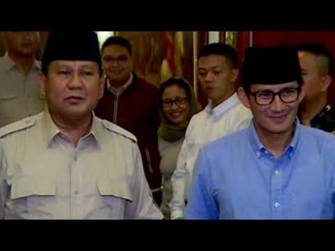 Prabowo-Sandi Siap Bantu Pemerintah Pasca Gempa