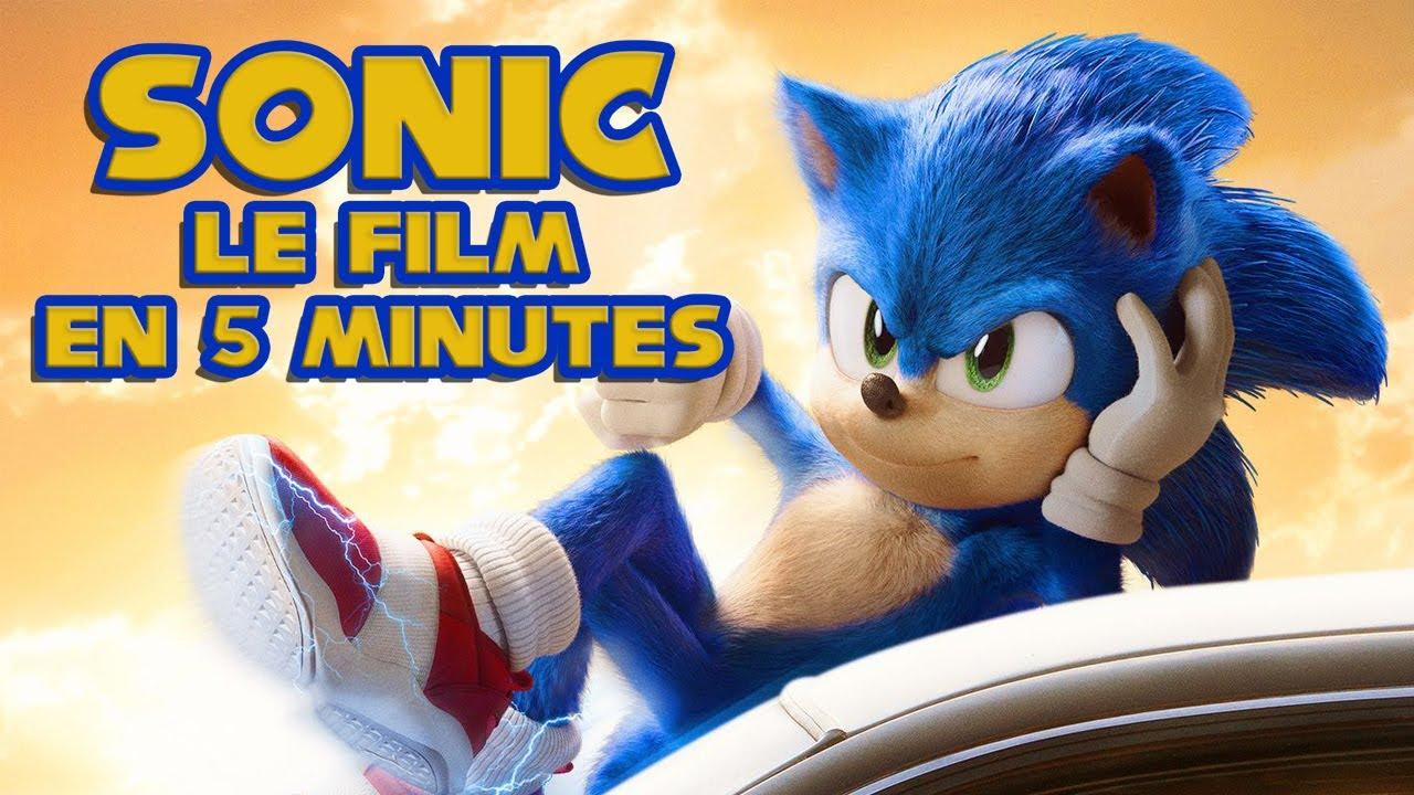Sonic le film en 5 minutes