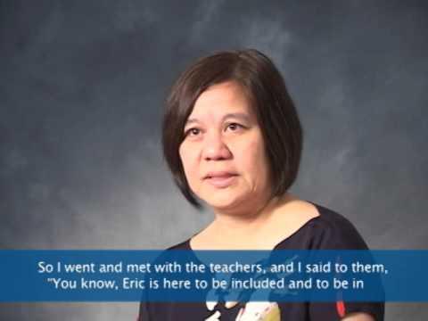 Eric: Family Advocate Profile Aline Yamashita Ph.D.