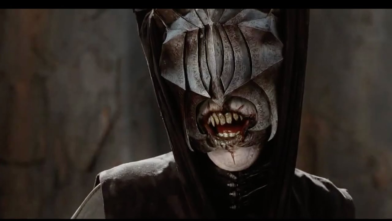 The Lord Of The Rings Sauron Mouth