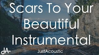 Scars To Your Beautiful - Alessia Cara (Acoustic Instrumental)