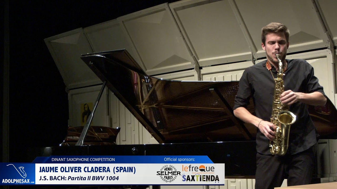 Jaume Oliver Cladera (Spain) - Partita II BWV 1004 by J.S.Bach (Dinant 2019)