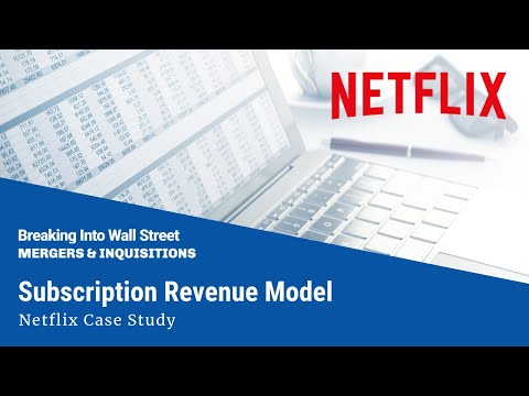 Subscription Revenue Model Netflix
