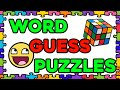 Word Guess Puzzles! Guess the Picture!
