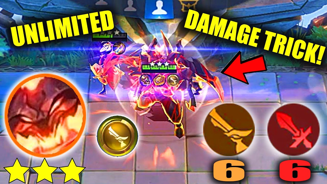 NEW TRICK 3 STAR THAMUZILLA  GUNNER UNLIMITED DAMAGE AND HEALTH STEAL IN NEW PATCH UNSTOPPABLE META
