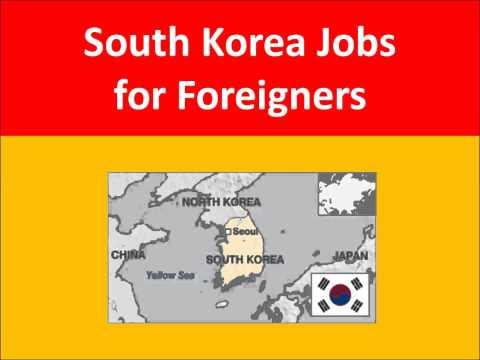 South Korea Jobs for Foreigners