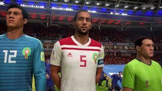 أسبانيا x المغرب Spain vs Morocco   Group B   3rd Match   Fifa World Cup Russia 18 Prediction