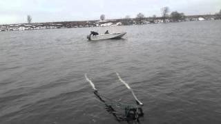 Моторная лодка Днепр СССР лодочный мотор Ямаха 30(, 2016-03-11T10:20:00.000Z)