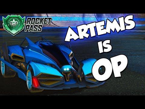 Artemis is OP | Rocket League Montage thumbnail