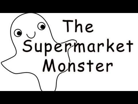 """""""The Supermarket Monster"""" by Pheobe C"""