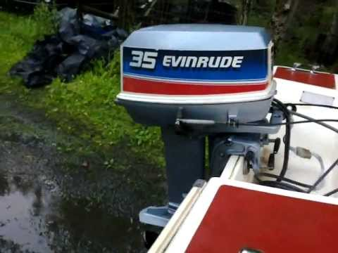 evinrude 35 hp youtube. Black Bedroom Furniture Sets. Home Design Ideas