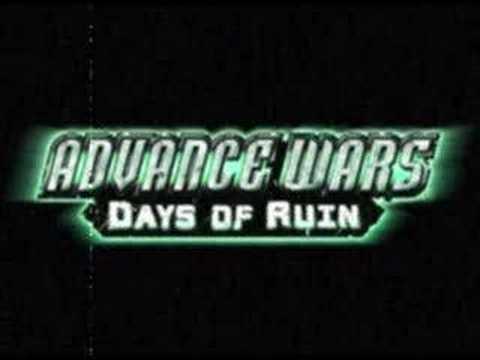 advance wars days of ruin co theme lin youtube