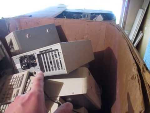 Making Money & Huge Profits Recycling 1,000 Pounds Of Scrap Electronics!