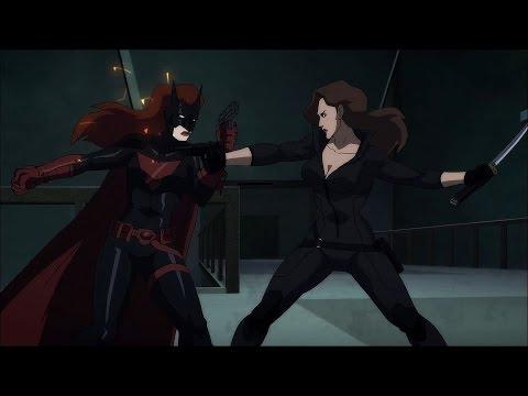Batwoman vs Talia al Ghul