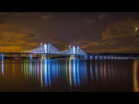 The NEW Tappan Zee Bridge - Four Years in Two Minutes