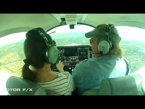 Pat Collins Discovery Airplane Flight Lesson @ ROTOR F/X 20150310