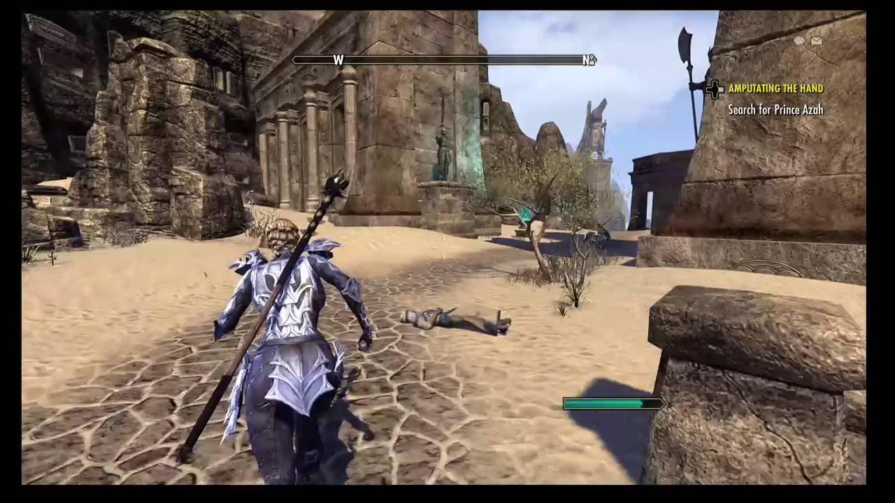 The Elder Scrolls Online Alikr Desert Thieves Trove Location