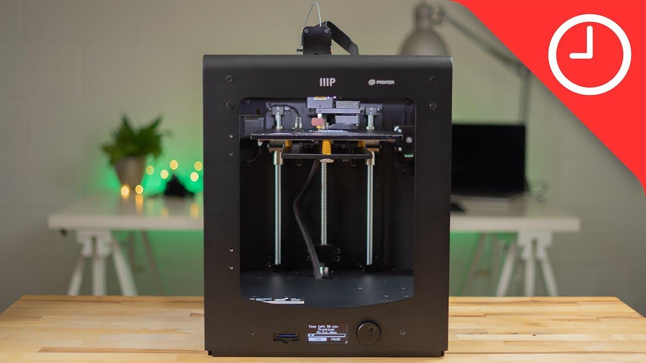 video Monoprice Maker Ultimate 3D Printer