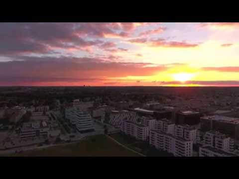 Drone above Copenhagen (HD)