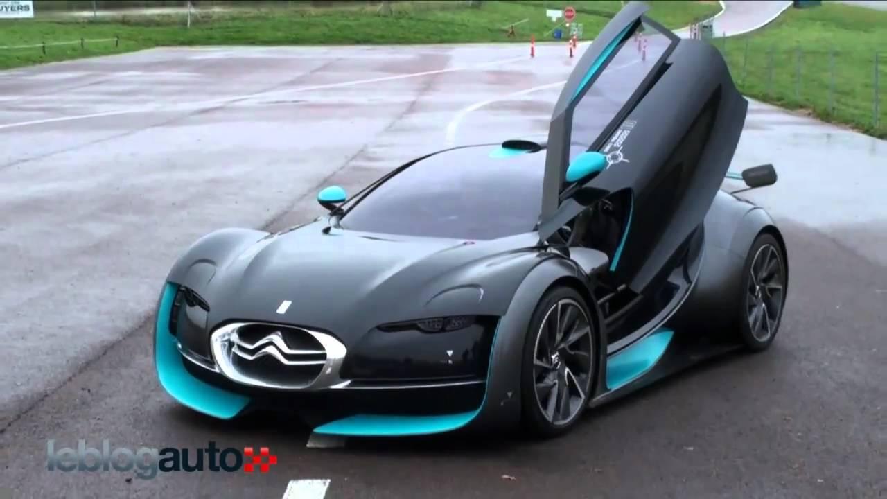Citroën Survolt, en piste sur le circuit des Ecuyers - YouTube