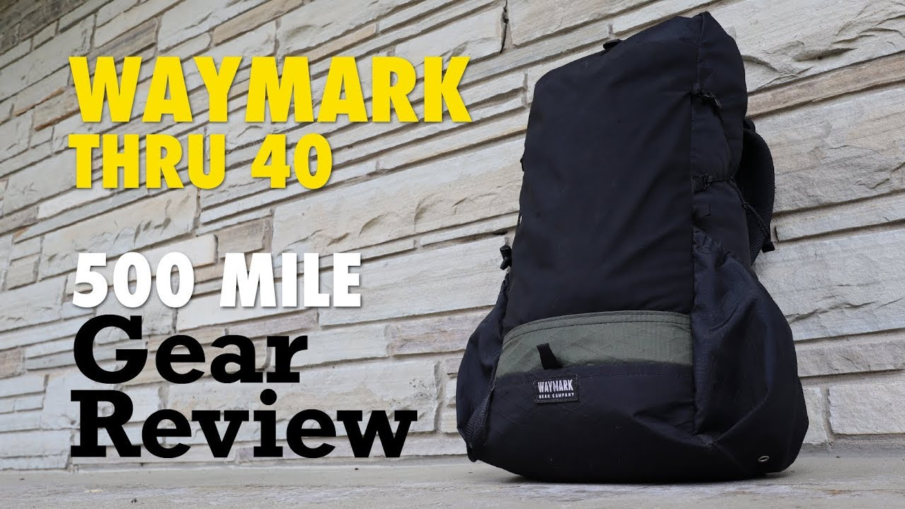 Waymark Thru 40 500 Mile Review