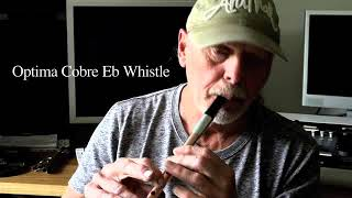 Optima Cobre Eb Soprano Whistle.