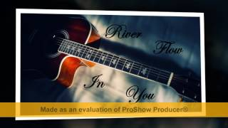 River flow in you guitar - cover by anime universe relaxing music (mp3)