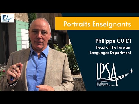 Interview enseignant IPSA (Philippe Guidi)