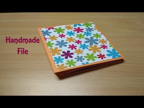 DIY Cardboard File Folder Tutorial | Handmade File using Cardboard | Handmade Album