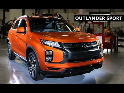 2020 Mitsubishi Outlander Sport (US-Spec ASX)