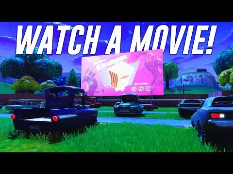 How To Watch A Movie In Fortnite!