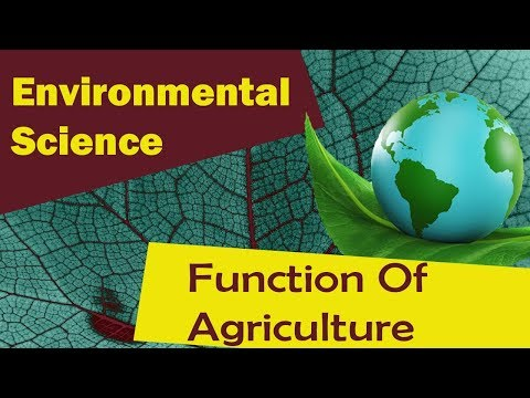 ANIMAL HUSBANDRY | Function of Agriculture | Farm Management Practice - Environmental Science
